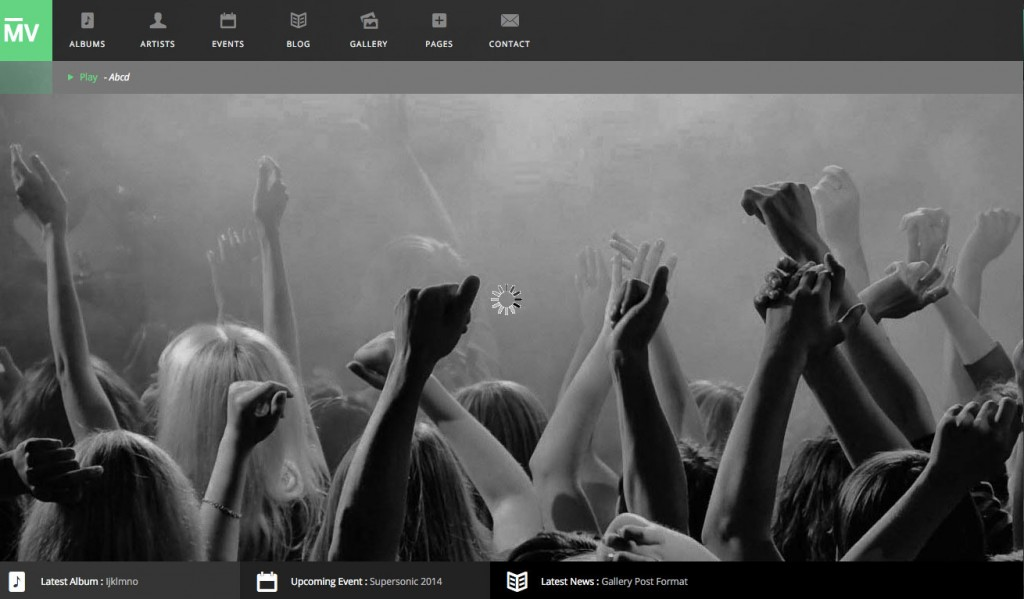 Premium Music & Event WordPress Theme